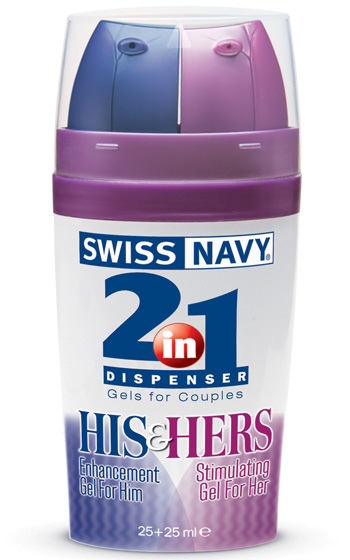2 in 1 His & Hers 25 Plus 25 ml