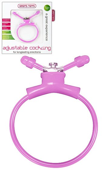 Adjustable Cockring Pink