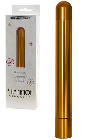 Alumination Vibrator Gold
