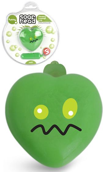 Badtvål med Vibrator - Äpple