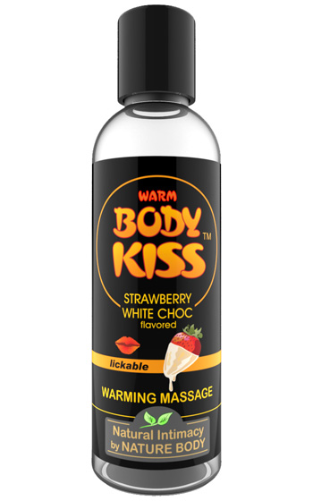Body Kiss Strawberry White Chocolate 100 ml