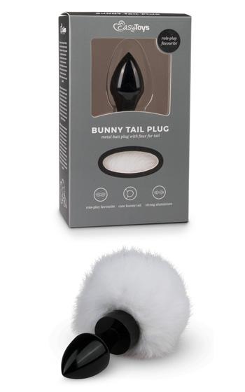 Bunny Tail Plug Black
