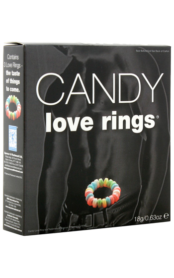 Candy Love Rings 3-pack