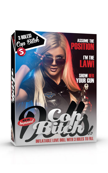 Cop Bitch Doll