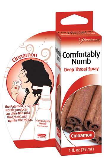 Deep Throat Spray - Cinnamon
