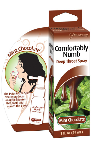Deep Throat Spray - Mint Chocolate