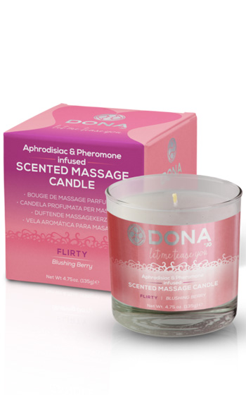 Dona Massage Candle Flirty 135g