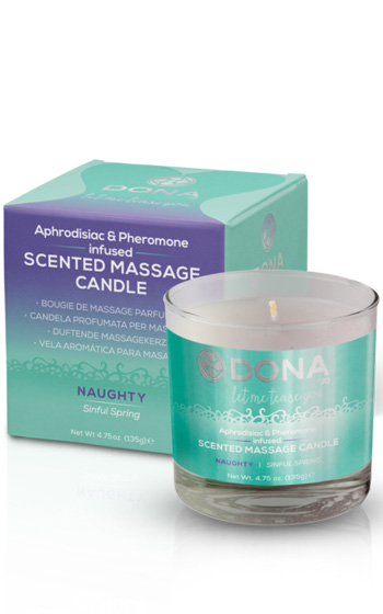 Dona Massage Candle Naughty 135g