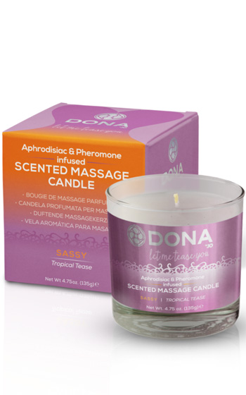 Dona Massage Candle Sassy 135g