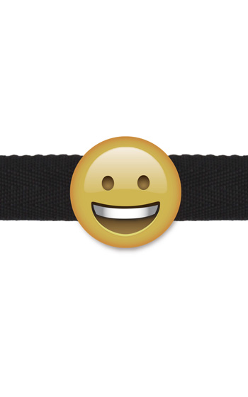 Emoji Smiley Gagball