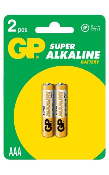 GP LR3 Ultra Alkaline 2-pack