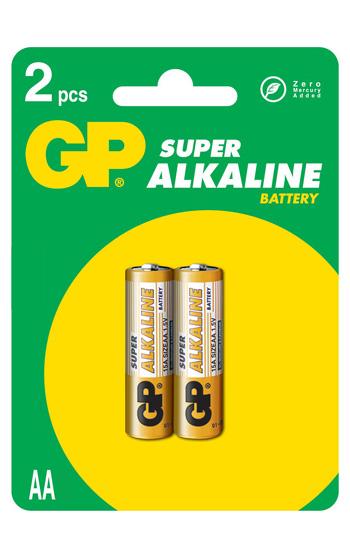 GP LR6 Ultra Alkaline 2-pack