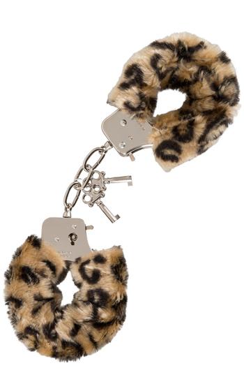 Handbojor Med Fluff Leopard