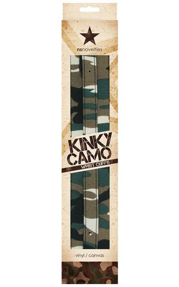 Kinky Camo Wrist Cuffs
