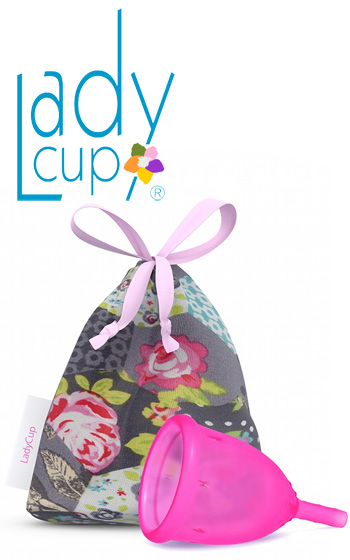LadyCup Rosa Large