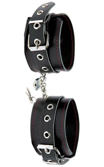 Lock & Chain Ankle Cuffs