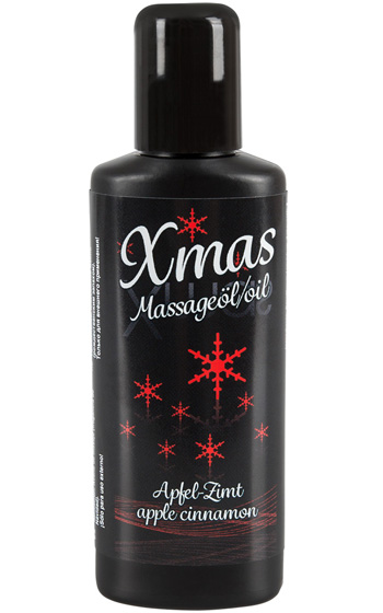 Massageolja Jul - Äpple Kanel 50 ml