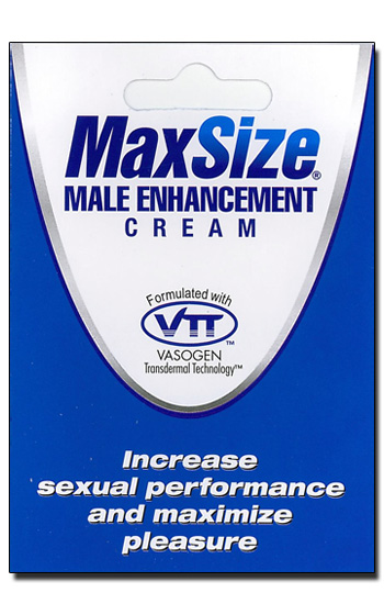 Max Size Cream Portion