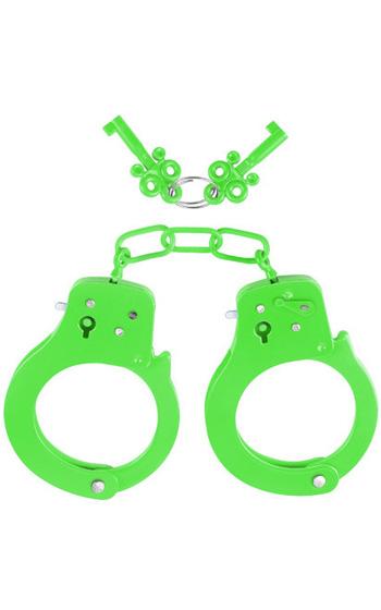 Neon Cuffs Gröna Handbojor