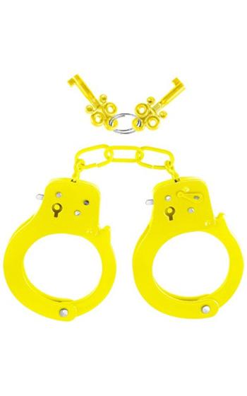 Neon Cuffs Gula Handbojor