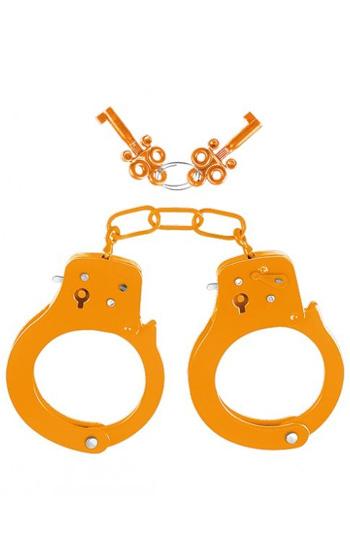 Neon Cuffs Orangea Handbojor