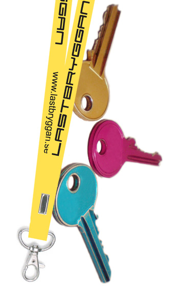 Nyckelband - Lastbryggan