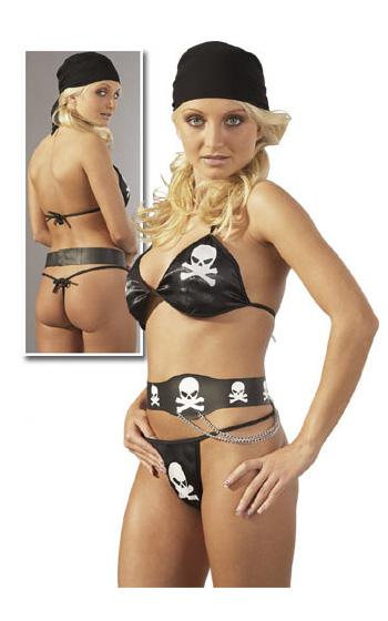 Piratset i tre delar - One Size