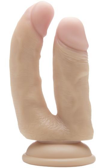 Realistisk Dubbeldildo Flesh 6,5 tum