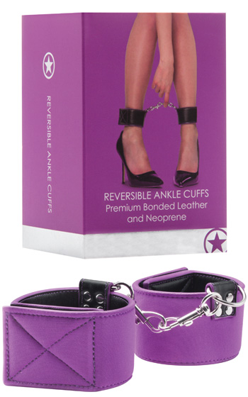 Reversible Ankle Cuffs Purple