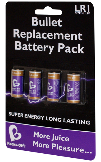 Rocks Off Battery Pack - 4 pack