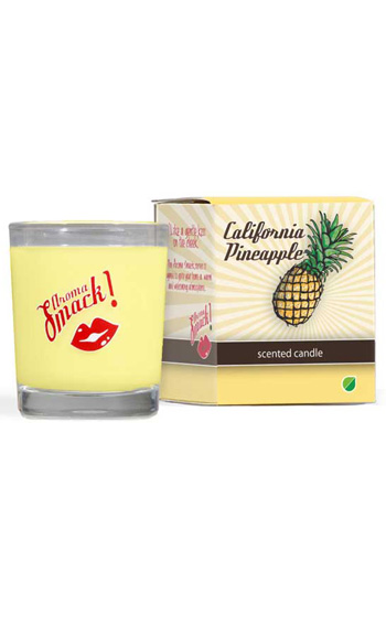 Scented Candle Pineapple