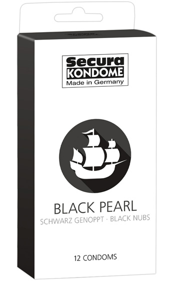 Kondomer Secura Black Pearl 12-pack