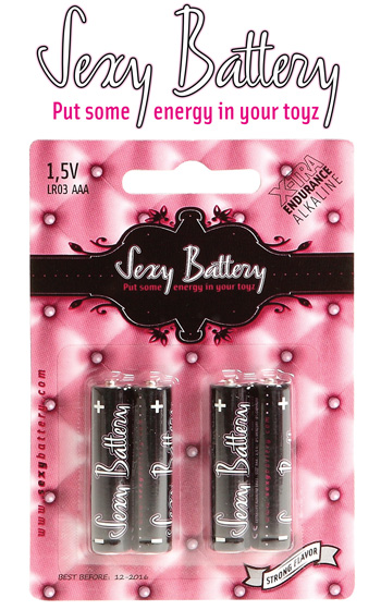 Sexy Battery LR3 - 4 pack