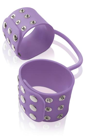 Silicone Cuffs Purple