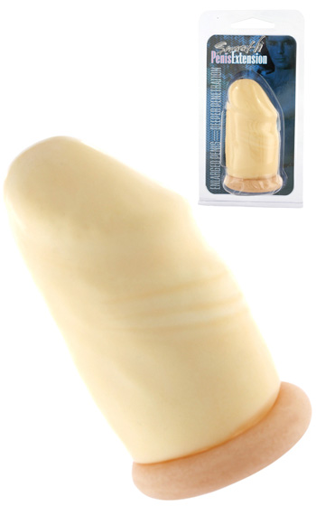 Smooth Penis Extension Flesh