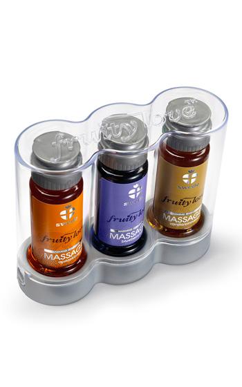 Swede Massage 3-pack Orange Blueberry Vanilla 3 x 50 ml