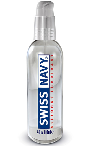 Silikonbaserat glidmedel Swiss Navy Silicone Lube 118 ml
