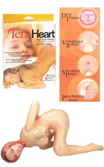 Tera Heart Sexdocka