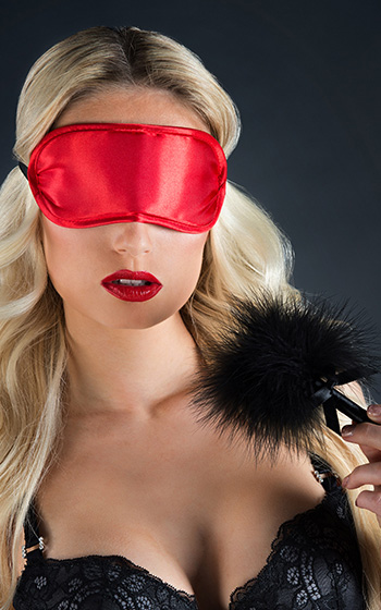 Velvet Soft Eye Mask & Tickler