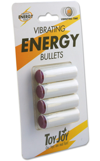 Vibrating Energy Bullets 4-pack