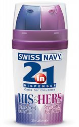 Prestationshöjande 2 in 1 His & Hers 25 Plus 25 ml