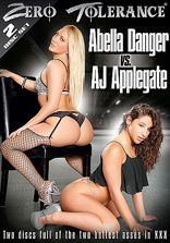 Rakade Tjejer Abella Danger vs AJ Applegate - 2 Disc