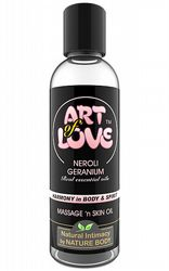 Massageoljor Massageljus Art of Love Neroli Geranium 100 ml