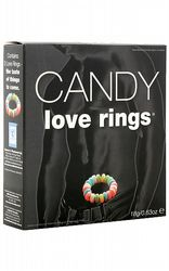 Ätbart & godis Candy Love Rings 3-pack