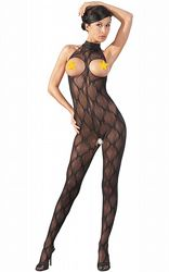 Catsuit With Straps L