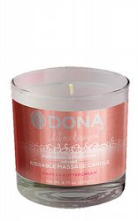 Massageoljor Massageljus Dona Kissable Massage Candle Vanilla 135g