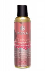 Massageoljor Massageljus Dona Kissable Massage Oil Vanilla 110 ml