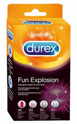 Kondomer Durex Fun Explosion 10-pack