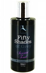 Massageoljor Massageljus Fifty Shades Massage Oil 100 ml