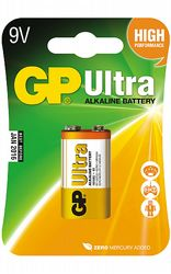 Batterier GP 9V Ultra Alkaline
